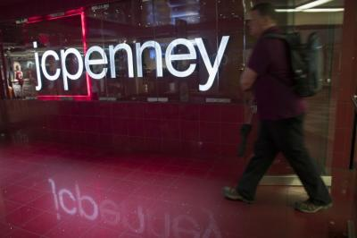41022262 FILE - In this May 16, 2018 file photo, a man enters the JC Penney store at  the Manhattan mall in New York. J.C. J.C. Penney Co. (JCP) on Tuesday, May  21, ...